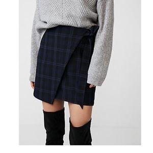 Express plaited skirt